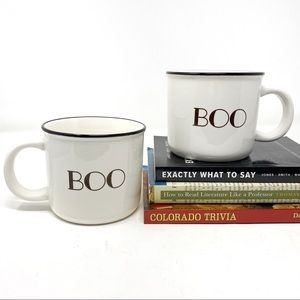 Halloween Threshold BOO 16 oz coffee mugs